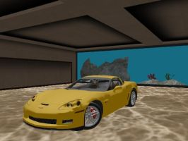 2006 Chevrolet Corvette Z06 + DL by sky-commander