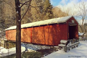 McConnell's Mill Covered Bridge 2 by GlassHouse-1