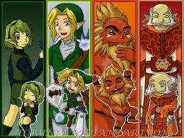 Heroes of OoT Desktop BG by BeCeejed