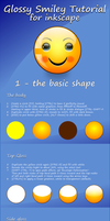 tutorial for a glossy smiley, pt. 1 - basic shape by mondspeer