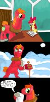 Merry christmas, Big Macintosh by seriousdog