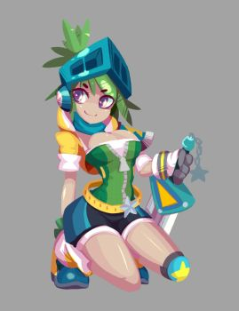 Commission - Arcade Riven by TopDylan