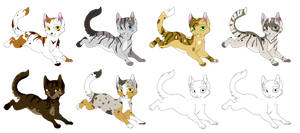 Feline Adoptables- Open! by Bayflight