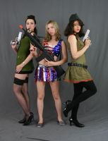 All American Girls 2 by MajesticStock