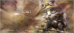 Teemo Signature by Sprykils