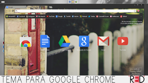 RED Tema Para Google Chrome by DeserveWhatYouDream