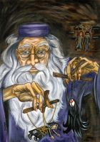 Dumbledore's puppets by stardog-art