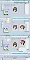 TUTORIAL  How2: Change Hue on Hairs by M-i-i
