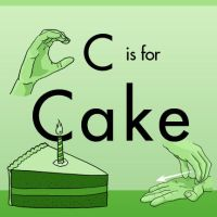 ASL Alphabet - C is for Cake by TheDelphina