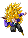 Trunks Super Saiyan 3 by OriginalSuperSaiyan