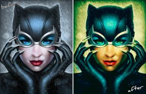 Another Edited Picture of Catwoman! by MiSs-PaRtY-rOcK-447