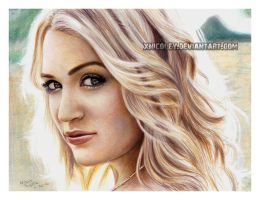 Carrie Underwood drawing by xnicoley