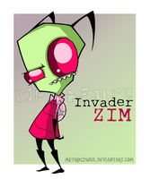 Just Zim by Metros2soul