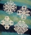 Good Designed Paper Snowflakes by InkArtWriter