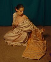 Copper Zari Kimono 22 by HiddenYume-stock