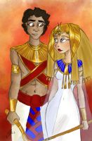 Ancient Egypt Heroes by TottieWoodstock