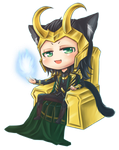 :Loki: Little King by PrinceOfRedroses