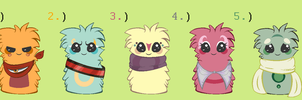 Scarfblob Adopts Set 1 CLOSED by sHOUTgUN