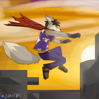 Fox Leap by Vent-Kazemaru