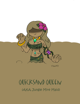 Esthe Hunter: Quicksand Queen by Basher-the-Basilisk