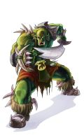 Applegreen Orc by Tregis