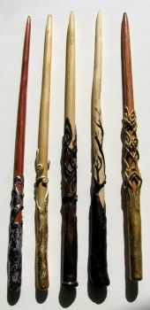 Crafted Magic Wands by trillions