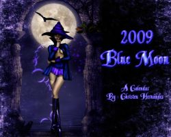 Blue Moon - 2009 Calendar by Chris10