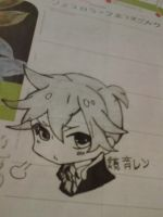 (more) Len-kun by Thickerthansmoothies