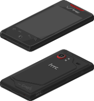HTC Droid Incredible by Blick-Blanks