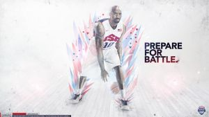 Kobe Bryant Team USA Wallpaper by Angelmaker666
