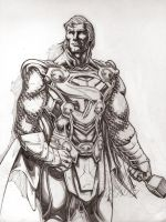 Super Thor (pencils) by emmshin