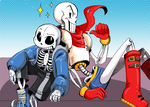 skelebros. by TooNo