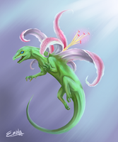 Dragon of Paradise- Gecko by Zafrean