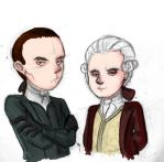 Lord Beckett and Mercer by Kozmotis
