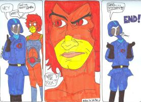 Cobra Commander Strikes Again by NarutoAndDoodlez2