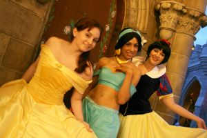 Disney Princesses by yuffieleonheart