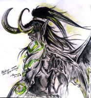 Illidan Stormrage by xCoffeeAddict