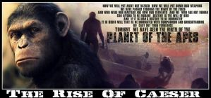 Rise of the planet of the apes by Melciah1791