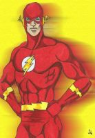 Moments of Crisis Barry Pose by Furyian