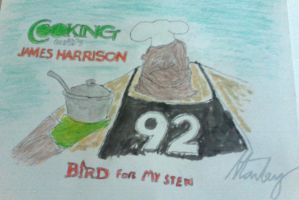 James Harrison by sfrederick