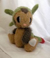 Comission: Jointed Chespin 1 by Naoru