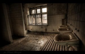 industrial bathroom... by PawelJG