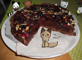 Nobody's allowed to eat my cake! by Nayirah