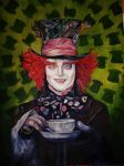 The Mad Hatter by NadineSabbagh