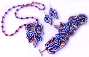soutache handmaid jewelry by caricatalia