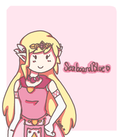Princess Zelda :: for SeaboardBlue by tsaaif