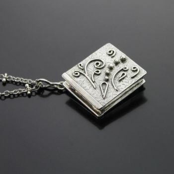 Book Pendant/Locket by kimistry3