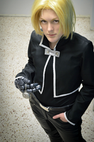 Edward Elric cosplay by Kozekito