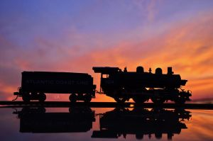 Sunset Steam II by CSX5344