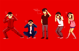 ASIAN POSES by zeuggg